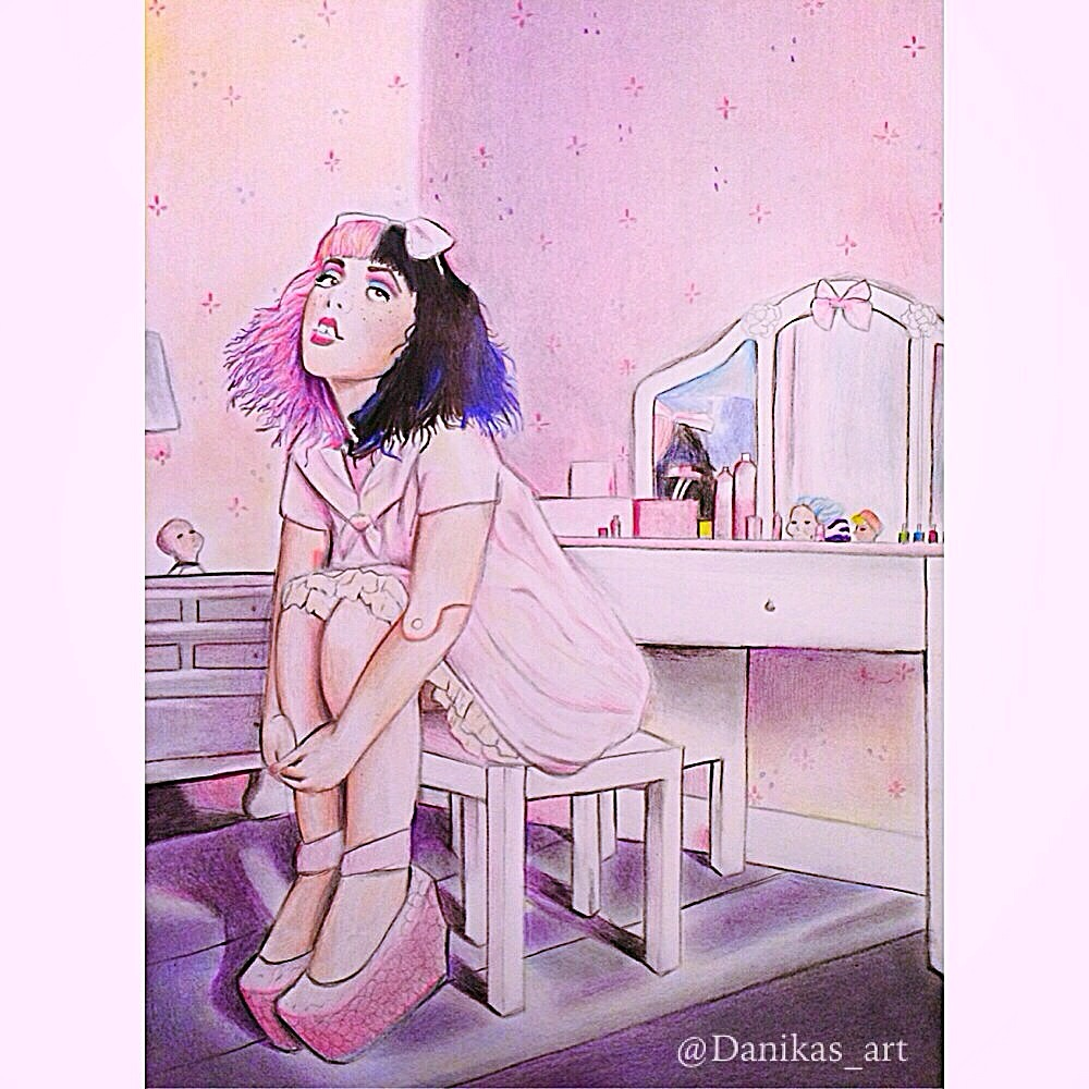 Melanie Martinez Drawing By Danikasart26