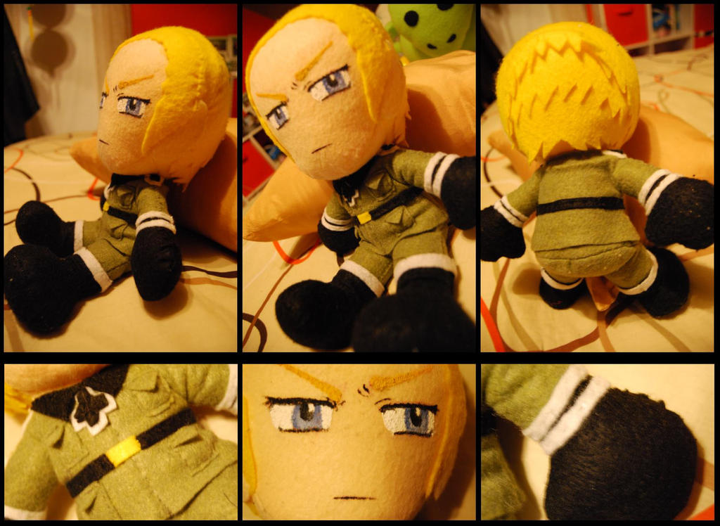 Germany Plushie : Hetalia by sizzing