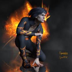On Fire .... by Mysticartdesign