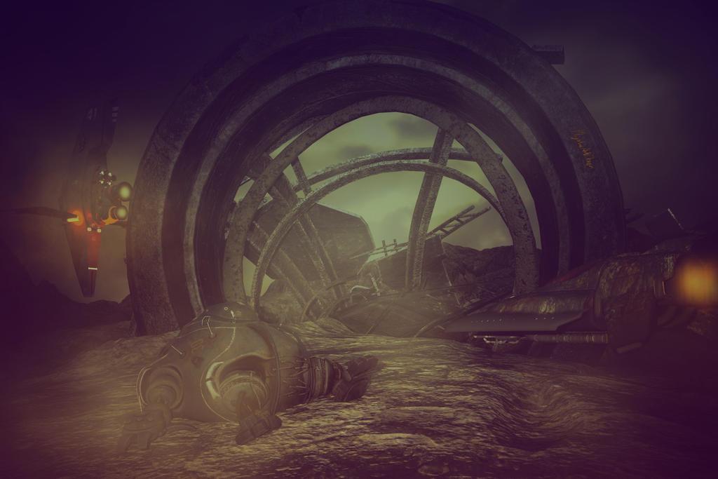 Dark Planet ... by Mysticartdesign