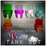 Tank Bot by Mysticartdesign