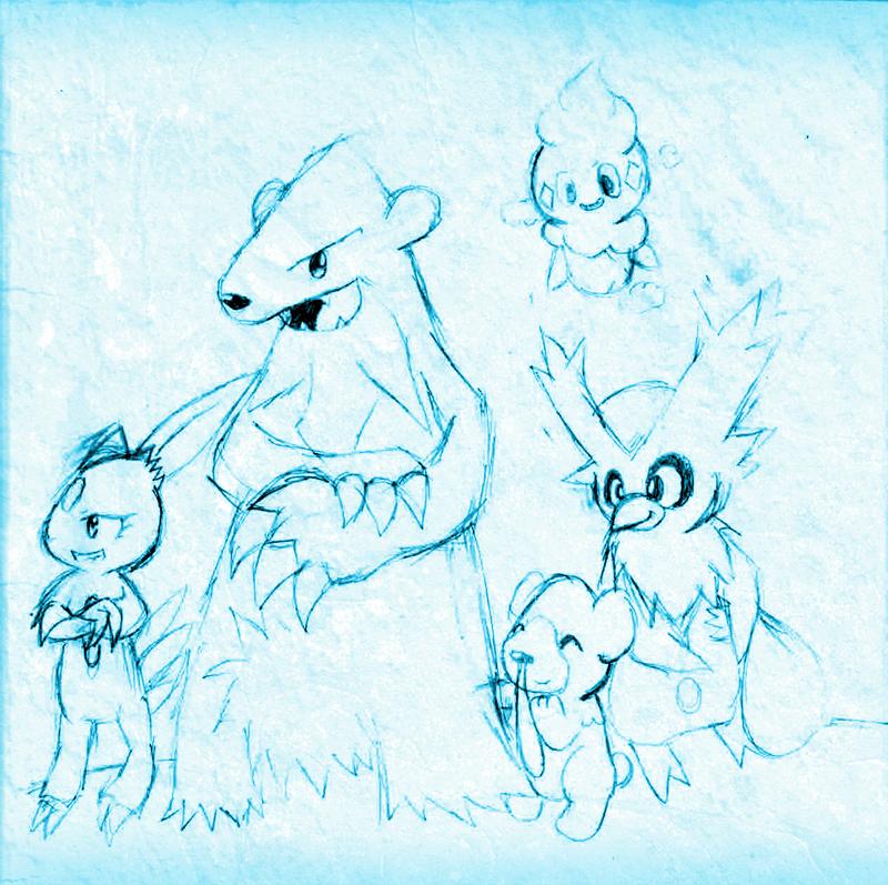 Ice type pokemon sketches by chibixi on deviantart ice type pokemon sketches by chibixi sciox Gallery