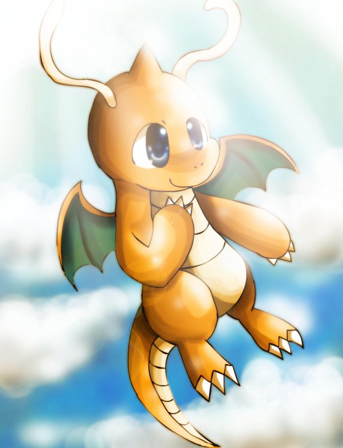 Dragonite by Chibixi