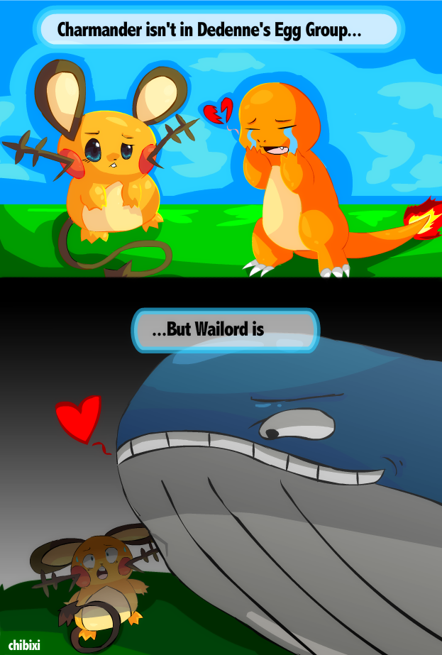 Egg Group Struggles - Comic by Chibixi on DeviantArt Wailord And Diglett