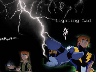 Lightning Lad Background by Squireprincess