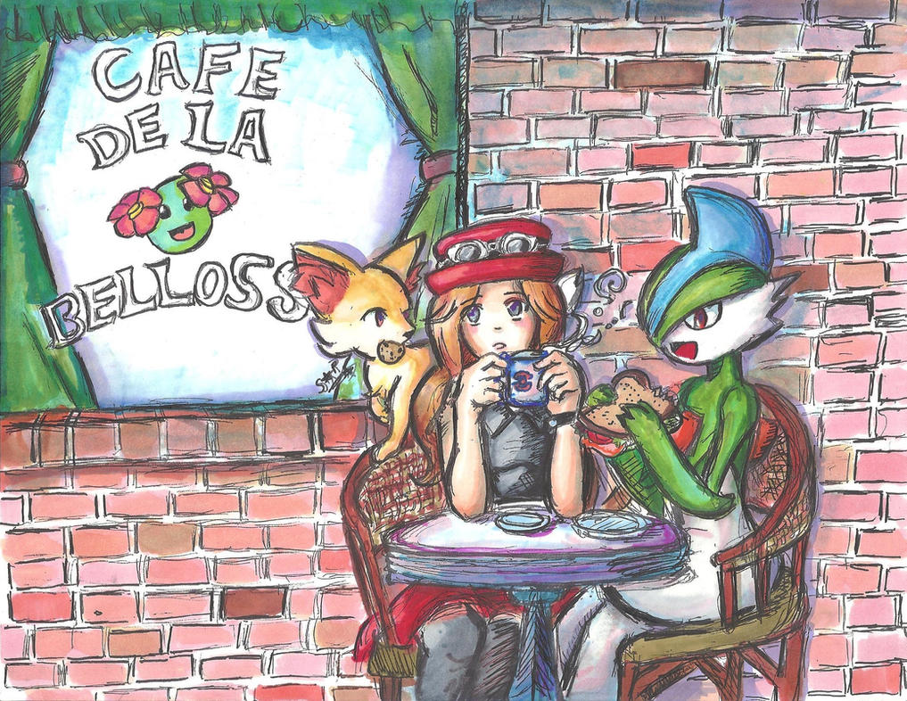 Daydreams at Cafe de la Bellossom- Otakon Picture2 by Squireprincess
