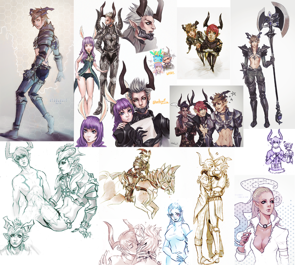 Tera:drawingdump by steelsuit