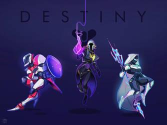 Destiny class chibs by steelsuit