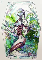 genji terrarium by steelsuit