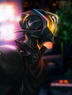 Street Knight by steelsuit