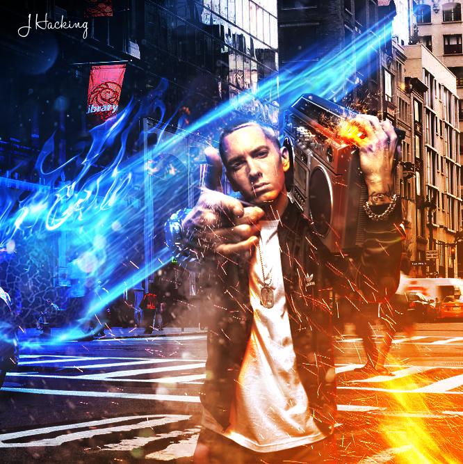 Eminem Photomanip 1 by idesign-it