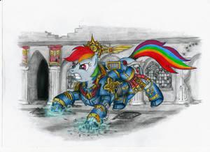 Assault Rainbow Dash
