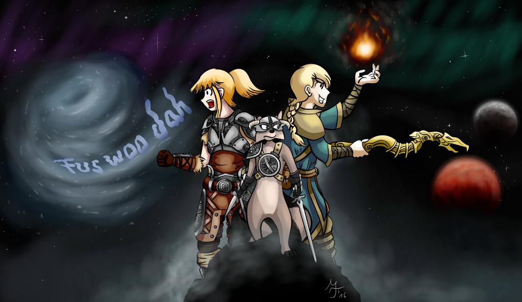 Dovahkoon! by Salahir