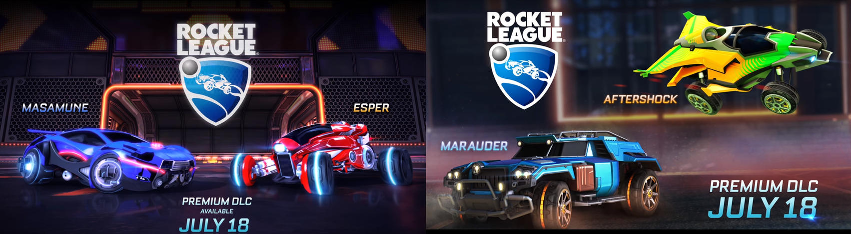 Names Of New Rocket League Cars