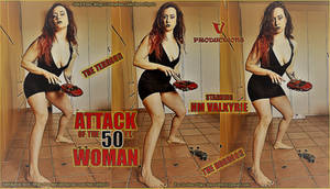 50ft Woman Collage