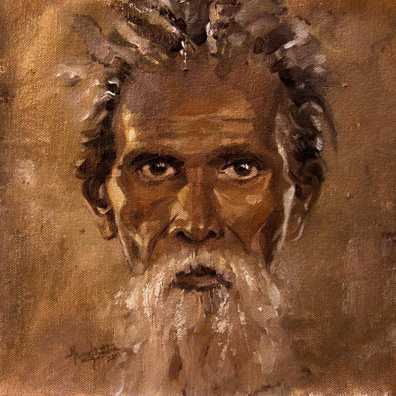 Portrait-Old Man by AhamedBatcha