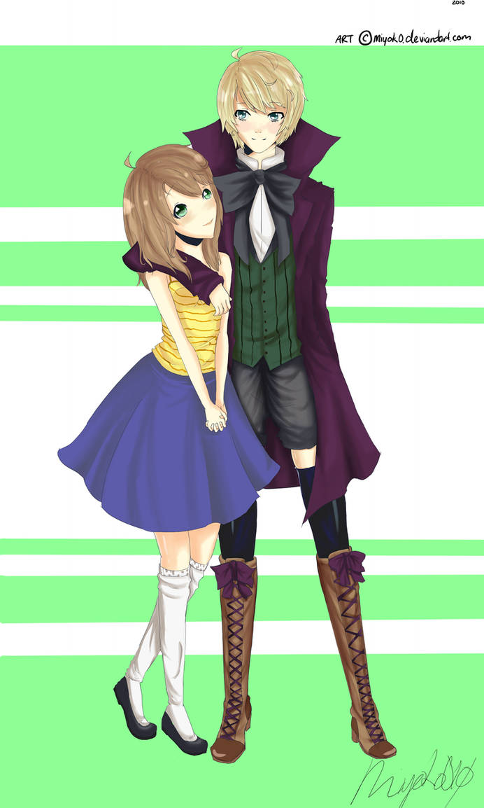Hina Uzai And Alois Trancy by A-Aani