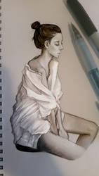 Portrait Study by A-Aani