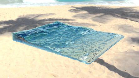 Maya Ocean Sim by A-Aani
