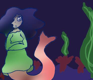a mermaid for fun by Lovelittleat