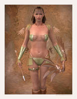 Elven Ranger by Lokai2000