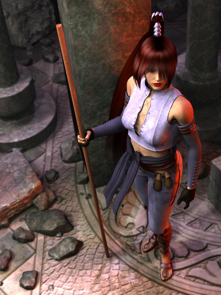 Kala: Holy Monk Warrior by Lokai2000