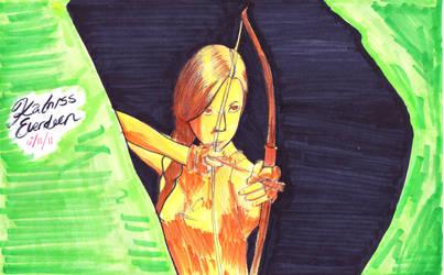 Katniss Everdeen by ZexionxDemyx-4ever