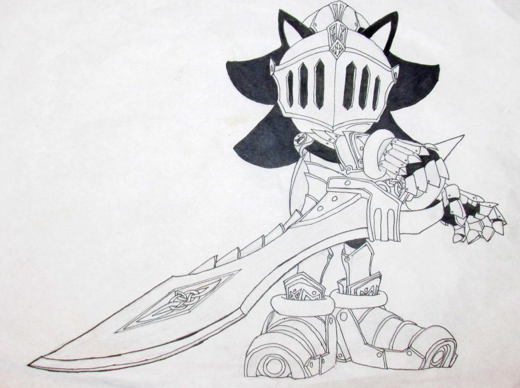 Line Drawing Hedgehog : Shadow the hedgehog as lancelot art line by anfelmeva on deviantart