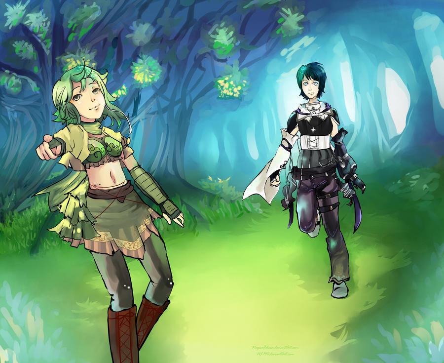 MemoriaSomnium: Quest 2 Collab by NagisaFelicia