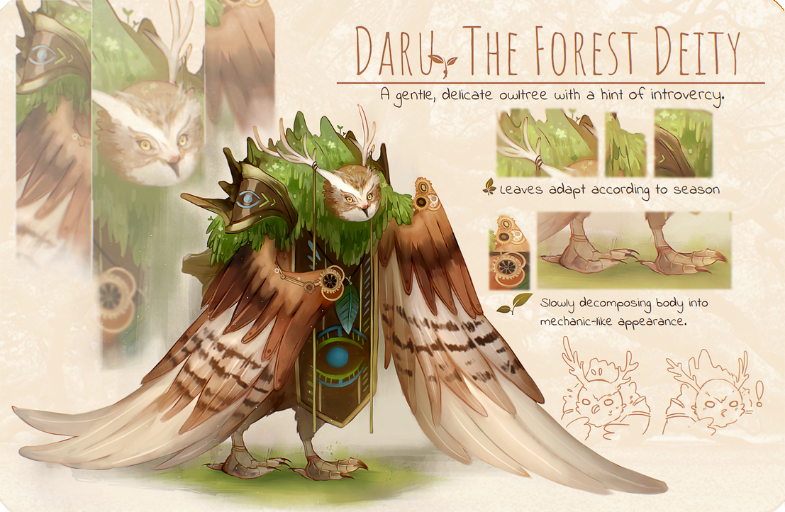 Daru The Owltree by NagisaFelicia
