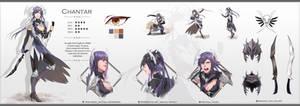 [Chantar] Character Reff Sheet