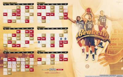 Beakcity - New Orleans Pelicans Calendar