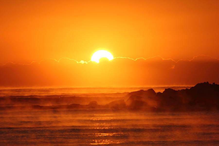 Sunrise at Scotts by Kick-Artist