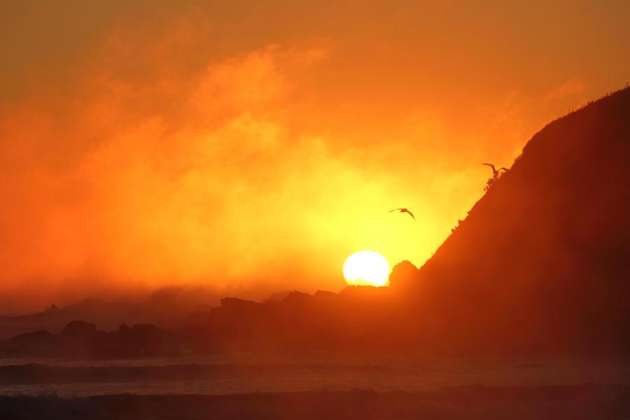 Steamy Sunrise by Kick-Artist