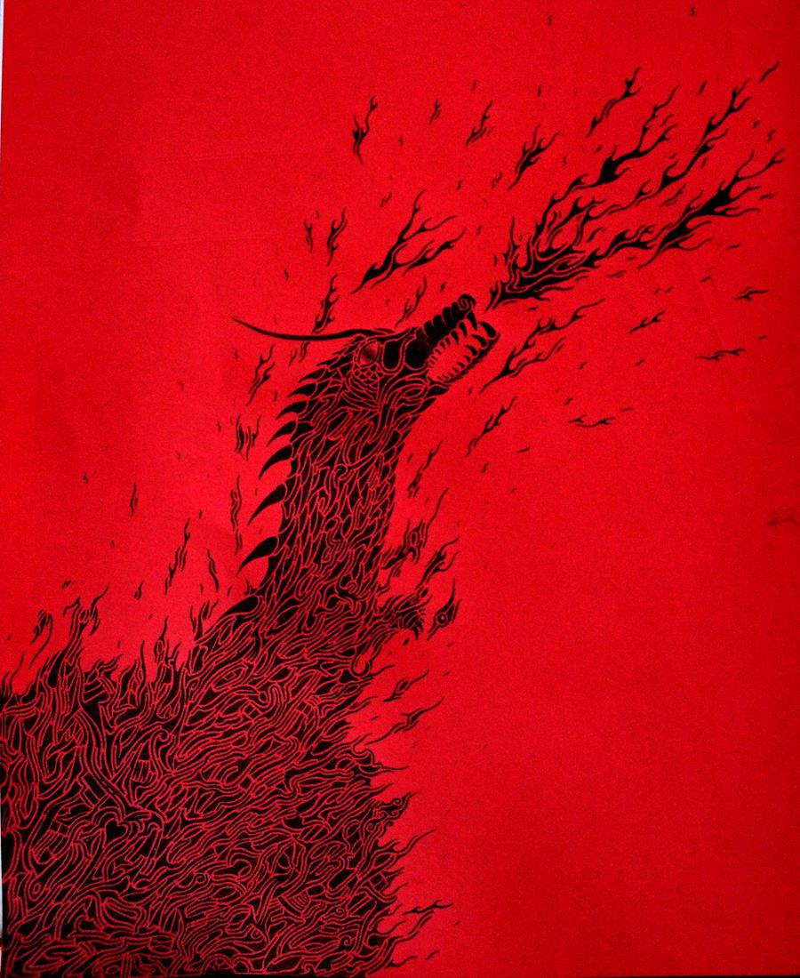 Dragon.. by Kick-Artist