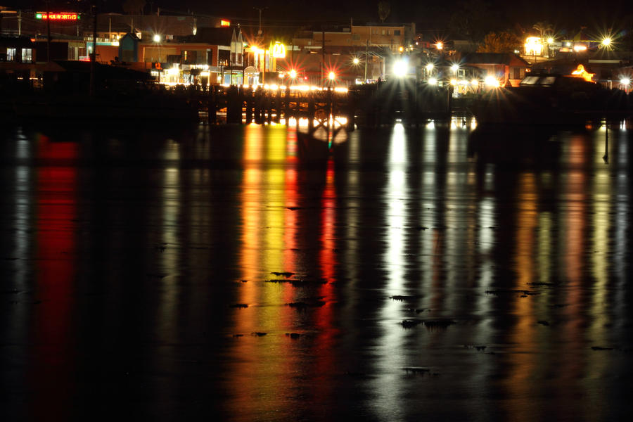 Merimbula Lights by Kick-Artist