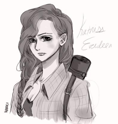 Katniss Everdeen Fan Art Katniss Everdeen- animatedKatniss Everdeen Fan Art