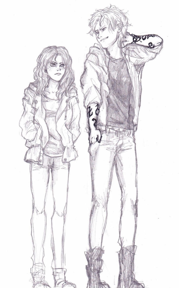 TMI FanArt-Clary and Jace by Be-the-real-me on DeviantArt  |Jace And Clary Fan Art Tumblr