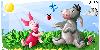 Pigglet and Eeyore by lelechan16