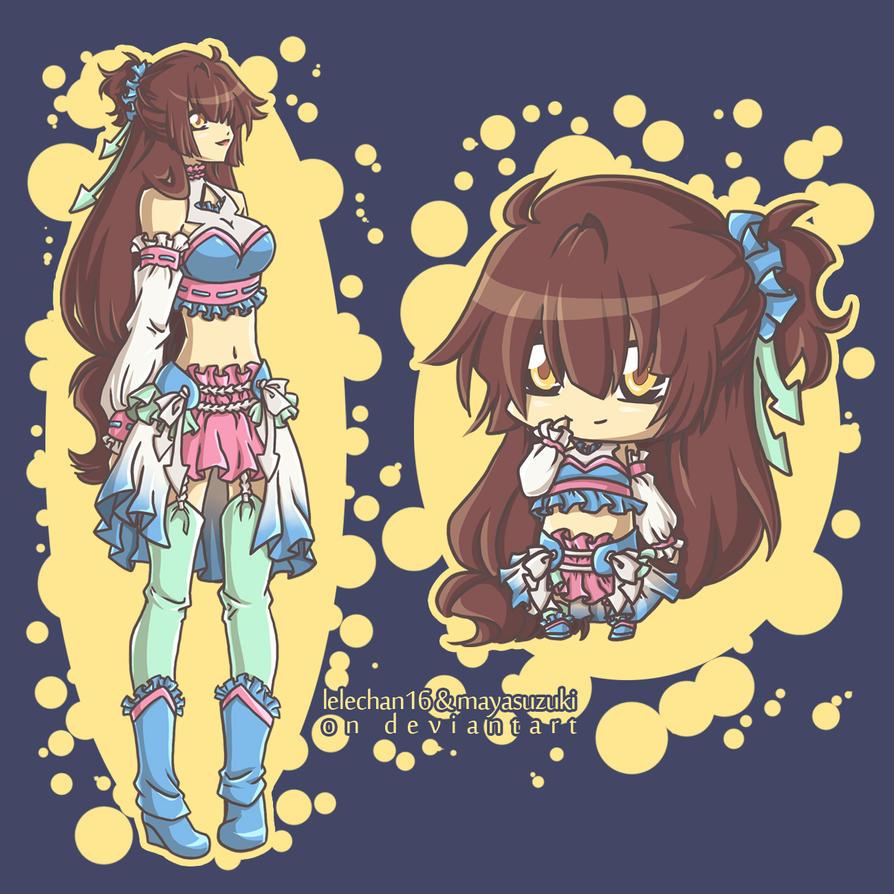 mascot by lelechan16