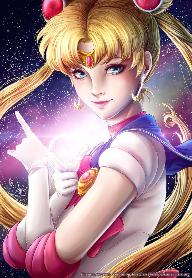 Sailor Moon - Artgerm Contest by lelechan16