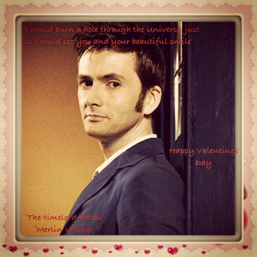 Doctor Who Valentines Day Card By DistantDireWolf ...