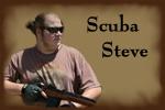 Scuba Steve Button by furiousj