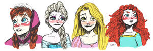 Royal doodle by xelartworks