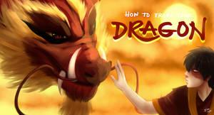 How To Train Your Dragon: Firelord Zuko style