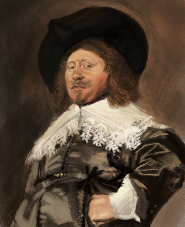 Claes Duyst van Voorhout by gressief