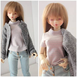 Casual outfit for slim MSD 1/4