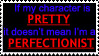 Perfectionism stamp by JourneyOfBell