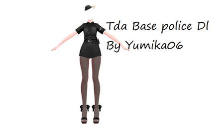 ||MMD||TDA Base Police DL by Yumika06