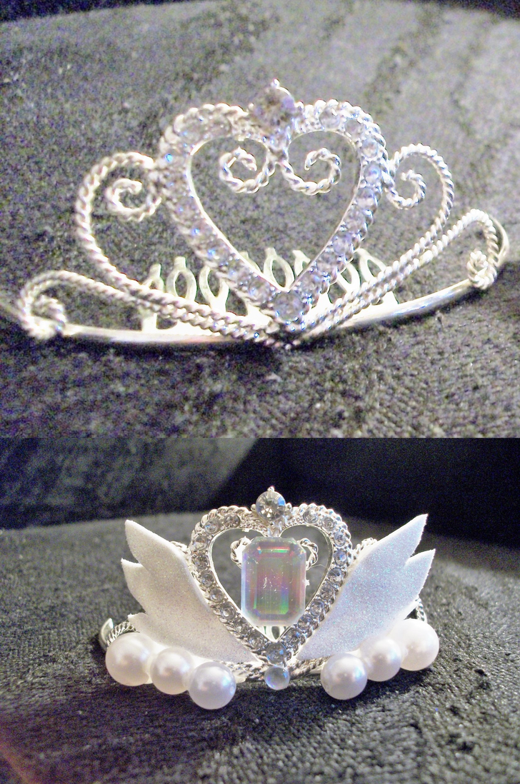 Neo-Queen Serenity Crown- Before and After by Sakinurai